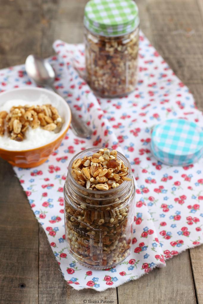 Granola con cereali soffiati2