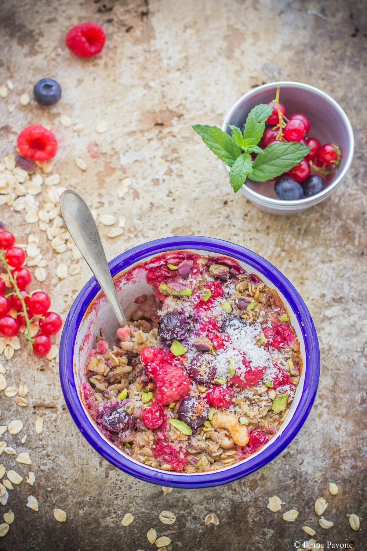 Porridge al forno2
