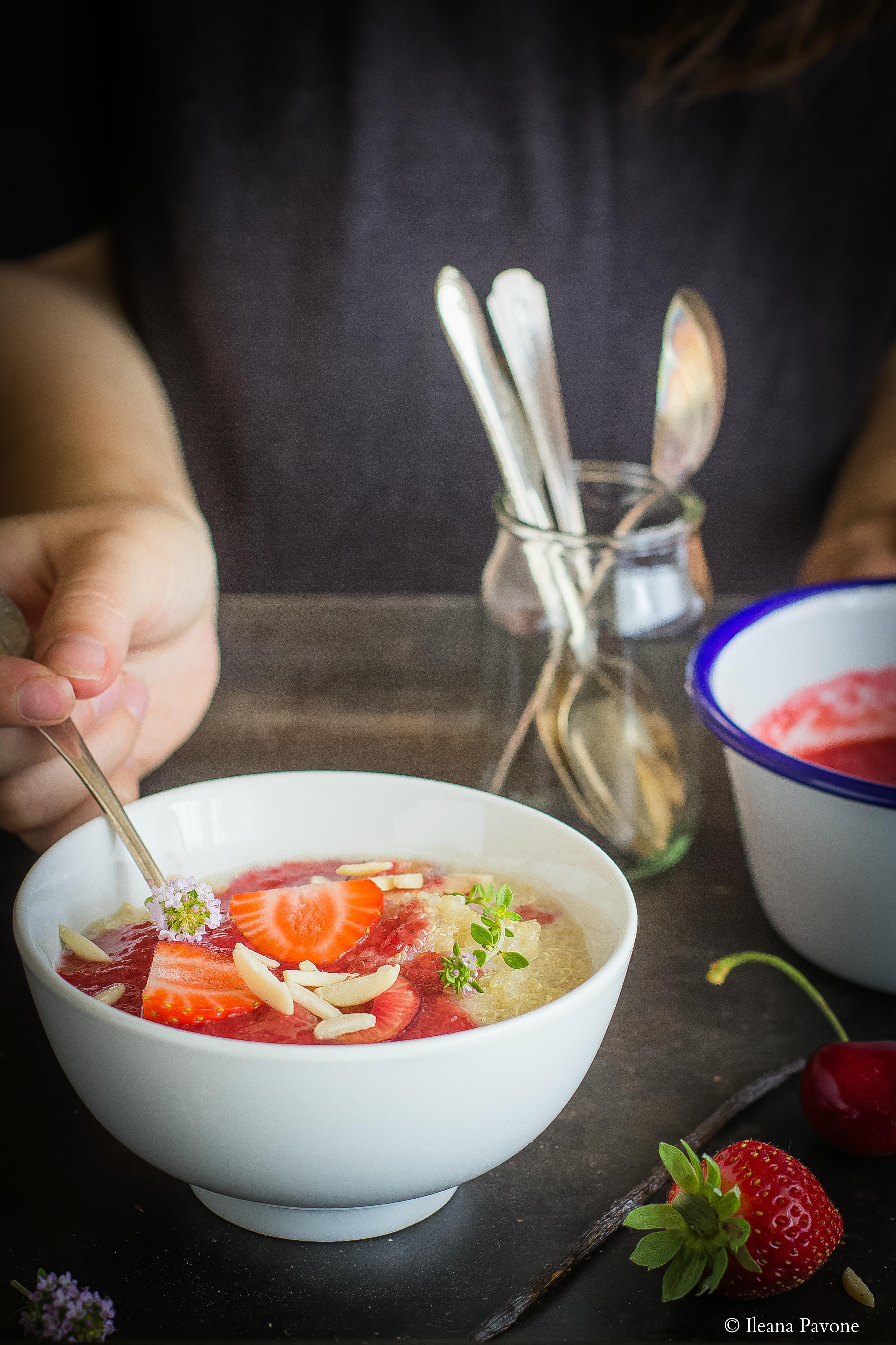 Porridge di quinoa