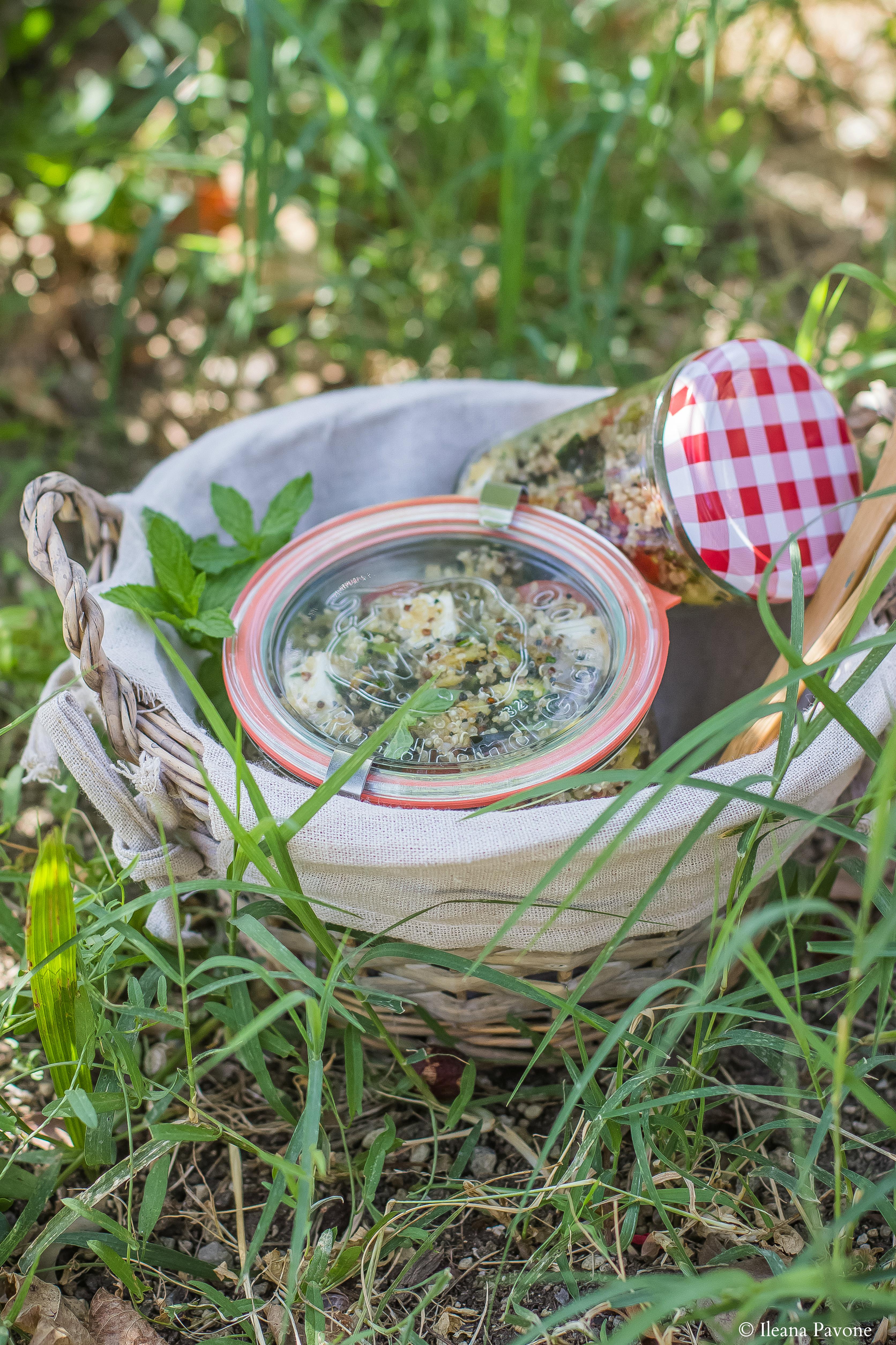 Insalata di quinoa con verdure grigliate