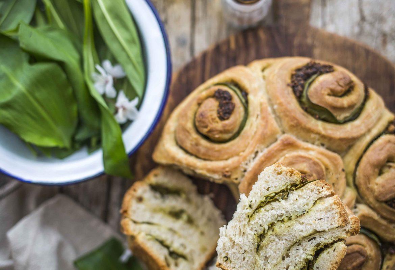 Pane all'aglio orsino